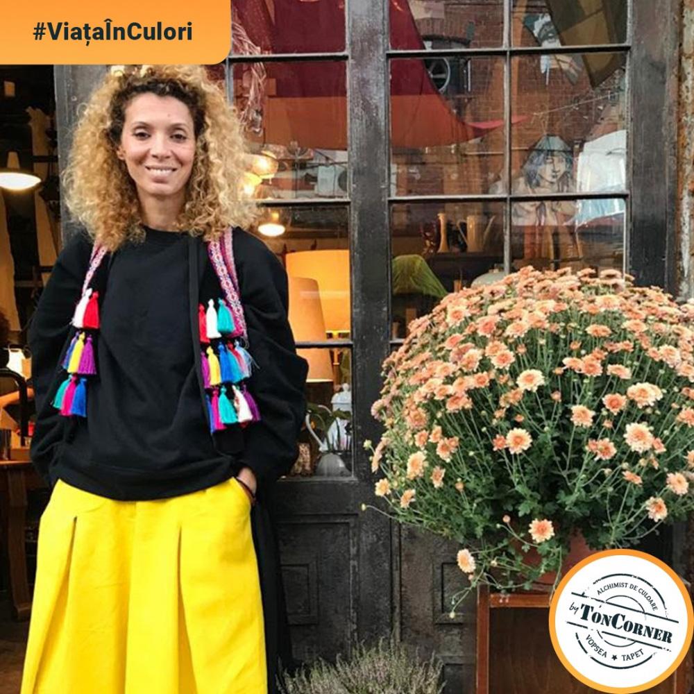 """#ViațaÎnCulori cu Alina Alexe: """"Culorile sunt vibrație, iar combinarea lor, esență."""""""