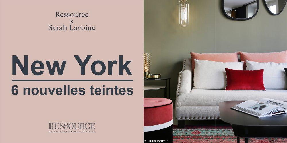 Sarah Lavoine x Ressource: 6 nuanțe noi inspirate de New York!