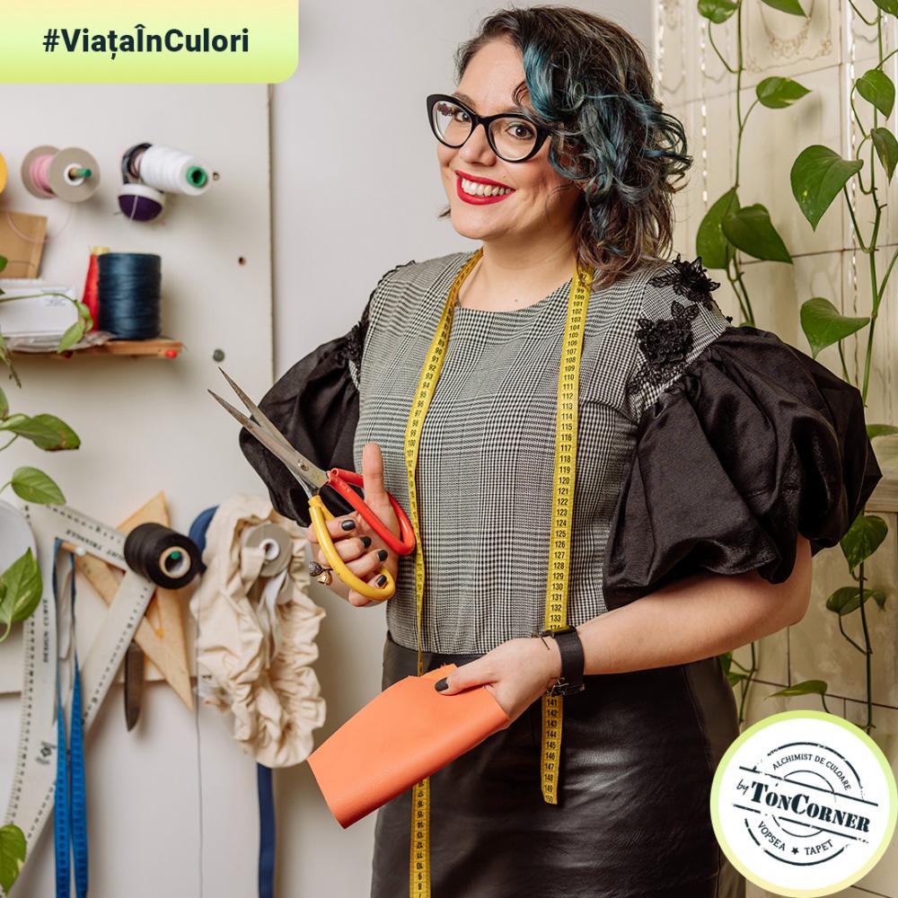 """#ViațaÎnCulori cu Armina Popeanu: """"Alege să porți culori tari, te vei înveseli instant!"""""""