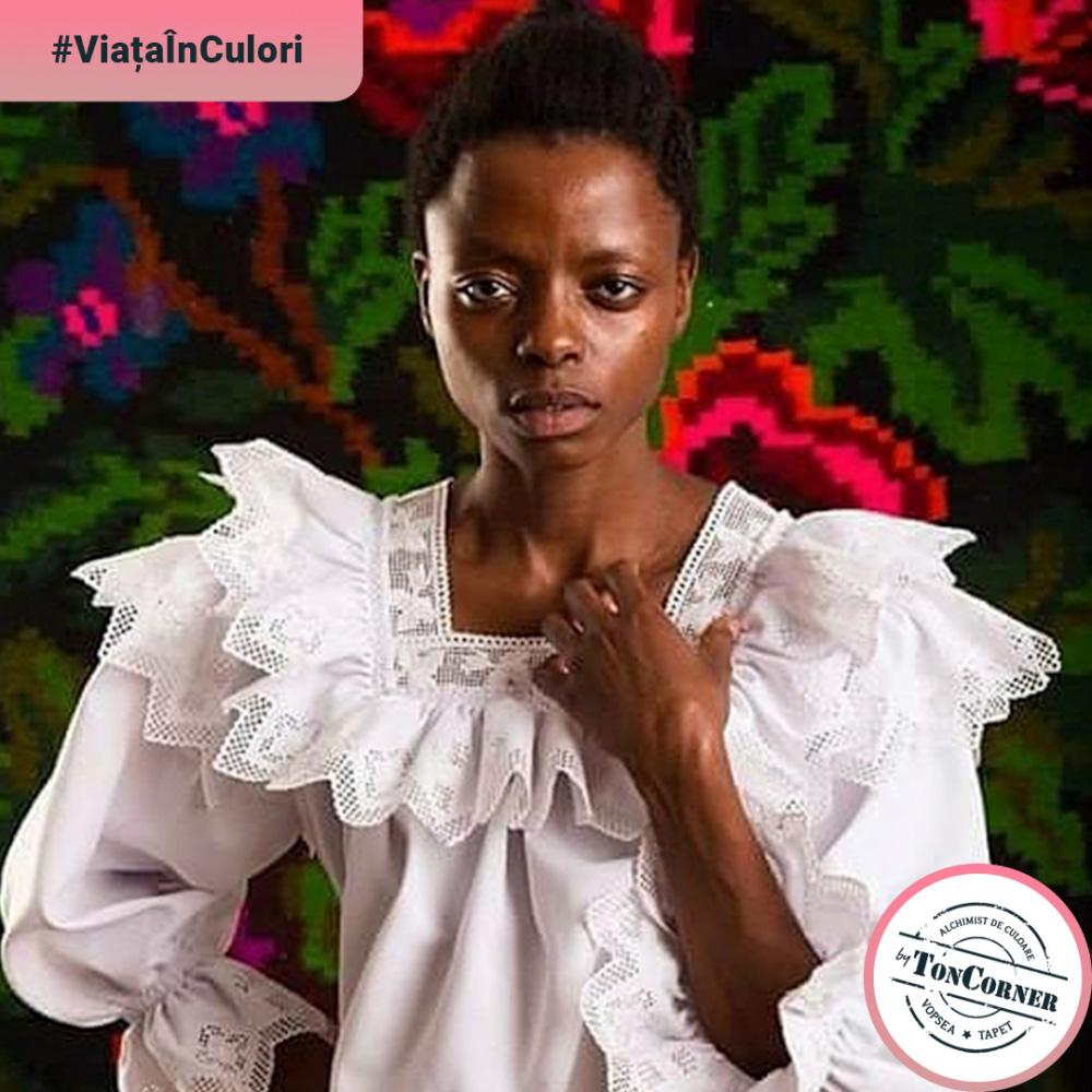 """#ViațaÎnCulori cu Virginia Usiku: """"Este cel mai frumos mod de expresie"""""""