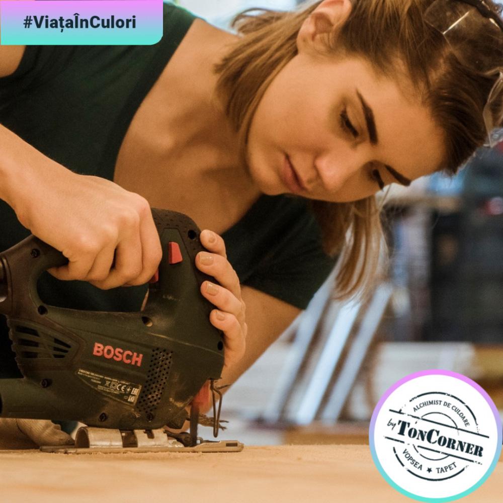 #ViațaÎnCulori cu Cristina: Este prima la a-și pune în practică ideile care-i vin